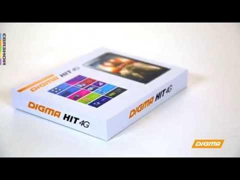 Распаковка планшета Digma HIT 4G. Эксклюзивно в магазинах электроники СВЯЗНОЙ