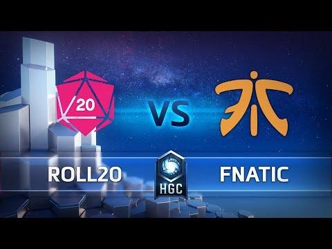 Fnatic vs Roll 20 esports vod