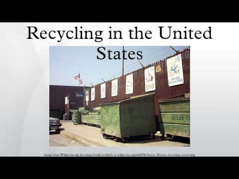 Recycling in the United States HD