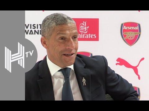 Chris Hughton: We had a drink before Arsenal match!