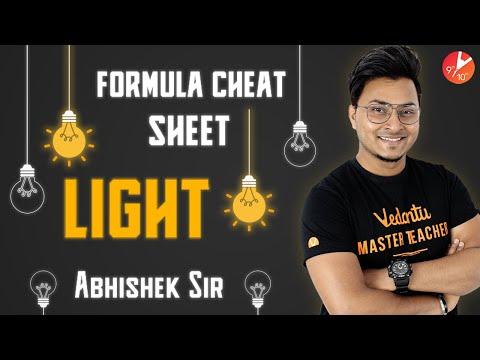 LIGHT Formula Cheat Sheet| ALL Formulas Of Light Reflection And Refraction| Physics|Vedantu Class 10
