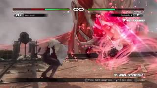 DOA5LR Naotora II Power Blow Glitch