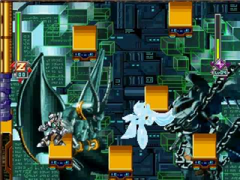 Mega Man X6 Zero vs. Gate