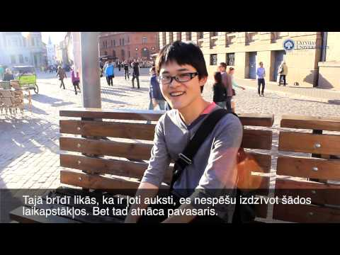 My Experience. University of Latvia - Kanzi Ogata