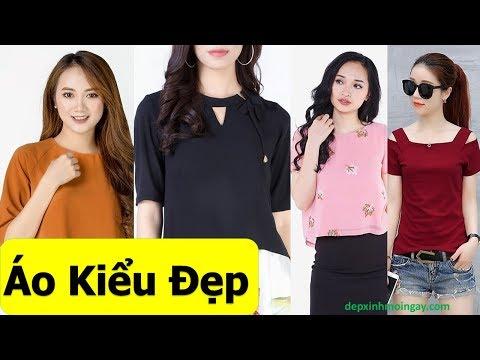 50 áo kiểu nữ đẹp thời trang T17