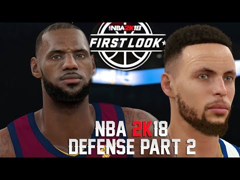 NBA 2K18 Gameplay Impressions #4: Defense Part 2! Off-Ball, Settings, Auto Contest and More!