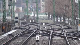 京急品川駅ポイント切替の早業(KK01) thumbnail