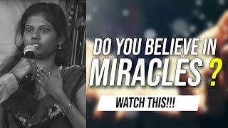 Do you believe in miracles ?  Watch this!!!!!