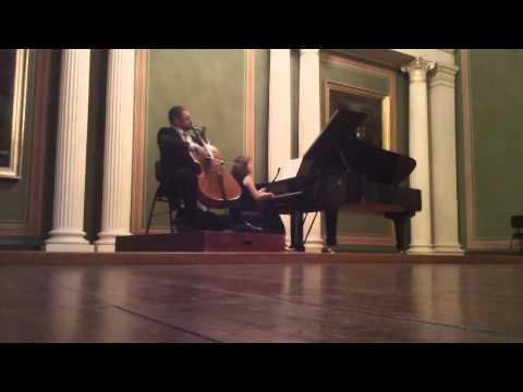 Schubert Arpeggione, Tchaikovsky Sentimental Waltz,Schumann Carnaval de Venise