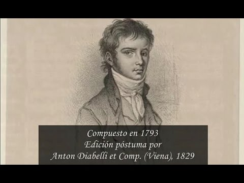 Rondó para Piano y Orquesta, en Si ♭ mayor, WoO 6. Ludwig van Beethoven