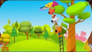 Мимимишки мультик игра Детский уголок Kids Corner мимишки кеша тучка лисичка ципа Змей Выпуск 15