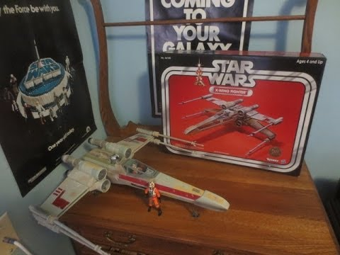 Bigg Darklighter's Vintage Collection X-wing Figher 2013 Toys R Us Exclusive Review