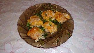 Куриные шарики в сливочно сырном соусе. ОБЪЕДЕНЬЕ! Диетический рецепт