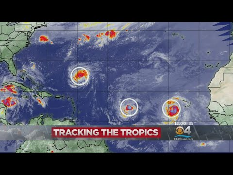 Tracking The Tropics: Latest Look At The Atlantic