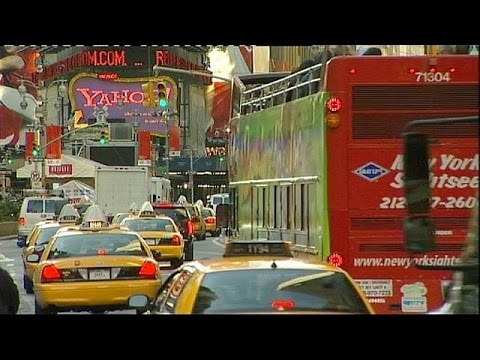 Uber taxis overtake New York yellow cabs