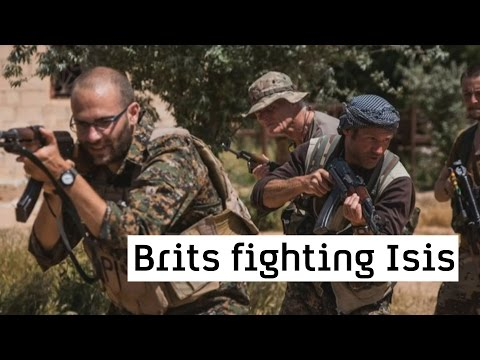 Islamic State: Brit fighters standing alongside the Kurds