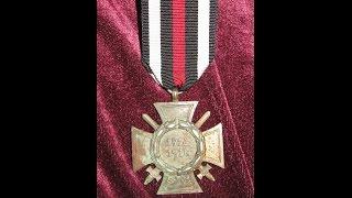 Почётный крест Первой мировой войны 1914 - 1918 / КРЕСТ ГИНДЕНБУРГА(, 2014-10-04T19:21:37.000Z)
