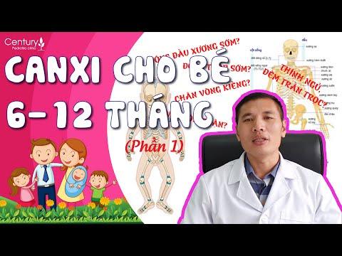Cách BỔ SUNG CANXI cho trẻ 6-12 tháng giúp bé CAO NHƯNG KHÔNG LO THỪA| Dấu hiệu thiếu canxi  (p1)