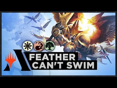 Feather Can't Swim | Standard 2020 Deck (MTG Arena)