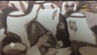 قصة صورة عبدالعزيز شكري مع الملك فيصل رحمه الله