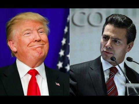 De Último Momento Peña Nieto se enfrenta a Donald Trump - Campechaneando
