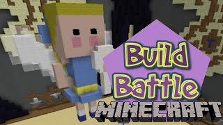 Minecraft Build Battle - FADA DO DENTE GANHOU EBAAAA