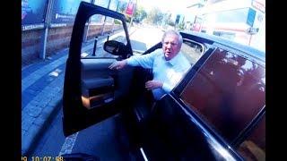 Aziz Yıldırım'ın trafikte motosiklet sürücüsü ile  tartışması kamerada