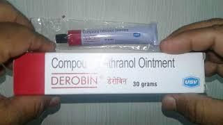 Derobin Ointment review डेरोबिन ऑइंटमेंट करे सोरायसिस जड़ से ख़त्म !