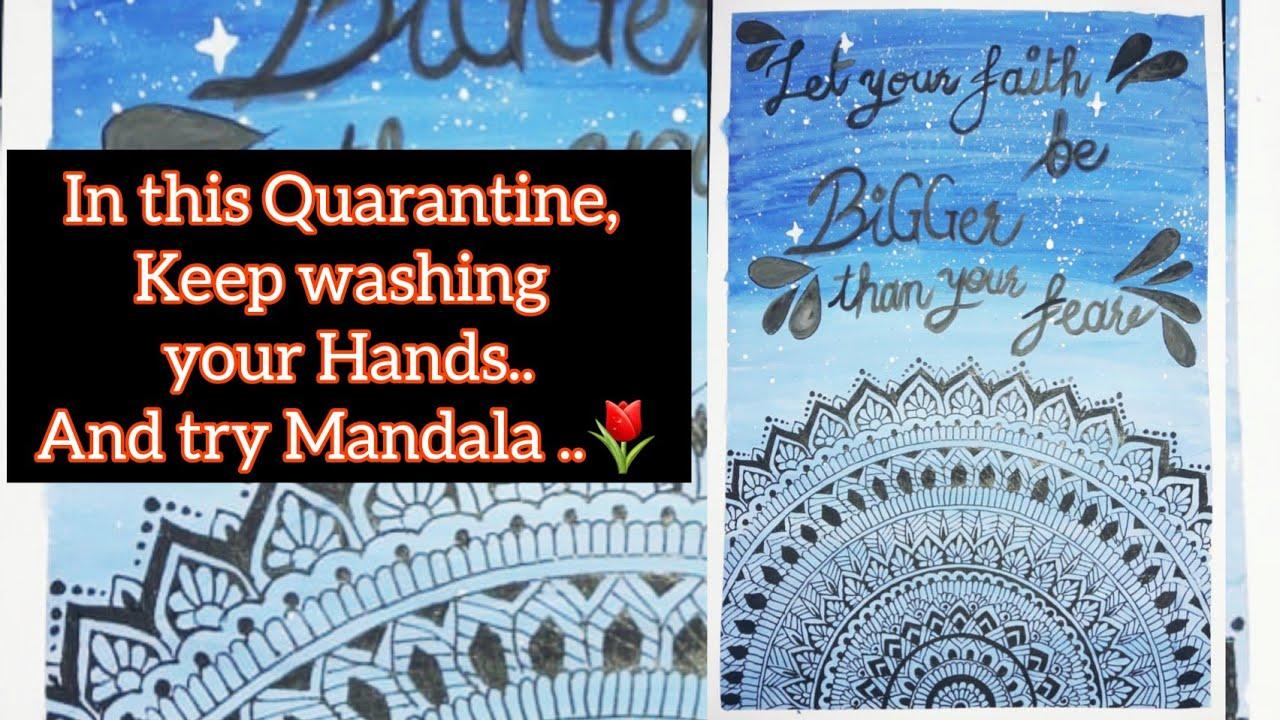 Quarantine special Mandala Art ❤️