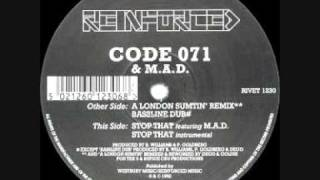 Code 071 & MAD - Stop That (Instrumental)