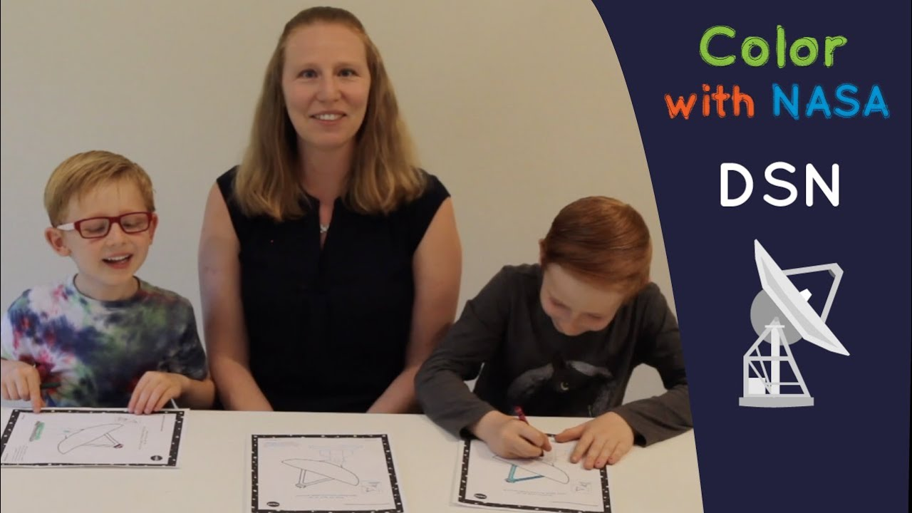 Color With NASA: DSN ft. Deep Space Network Engineer Amy Smith