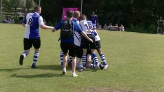 bekerfinale district Noord  HS'88 A1 – Helpman A2