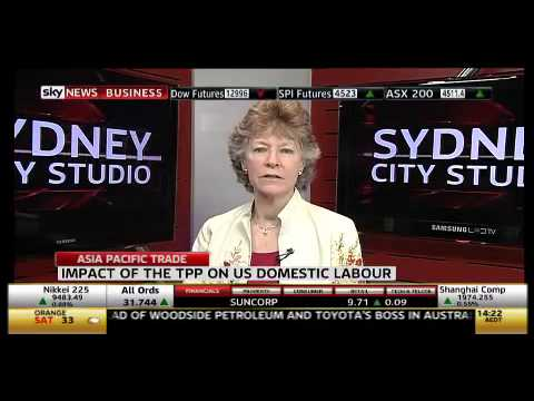 Trans Pacific Partnership negotiations loom - Sky Business 5/11/12