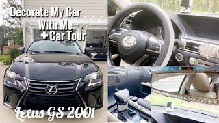 DECORATE MY CAR WITH ME💎 + CAR TOUR