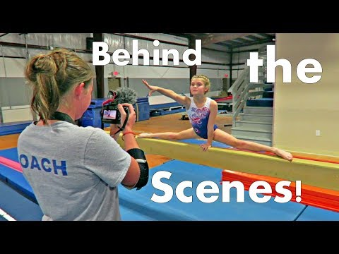 Behind The Scenes Of SevenGymnasticsGirls | ft. Kyra, Mollie and Coach Rachel Marie
