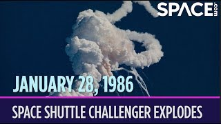 OTD in Space – January 28: Space Shuttle Challenger Explodes After Launch