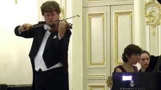 "Andrey Baranov - Inga Dzektser - Saint-Saens ""Introduction and Rondo-capriccioso"""