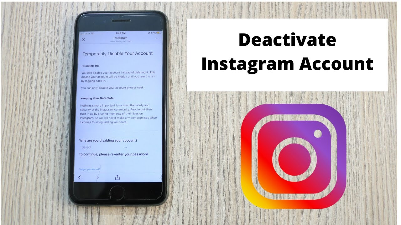 How to Deactivate Instagram Account on iPhone (9)