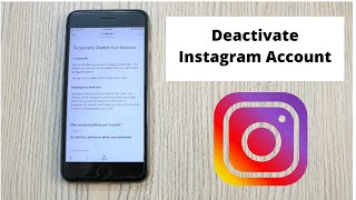 How to Deactivate Instagram Account on iPhone (2020)