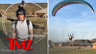 Video of 'King of Random' Grant Thompson Paramotoring Months Before Death