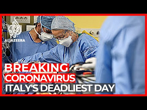 Italy Reports Record 919 COVID-19 Deaths In A Day