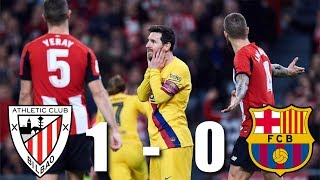 Barça were eliminated from the copa del rey on thursday, after inaki williams' late winner sent athletic club to semi-finals. it's more disappointment fo...