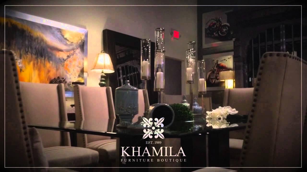 Khamila Furniture Boutique Youtube