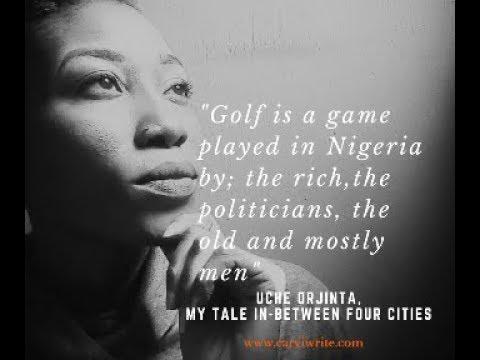 Uche Orjinta from Nigeria