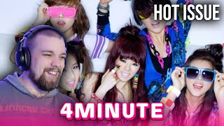 REACTION to 4MINUTE (포미닛) - 'HOT ISSUE' MV