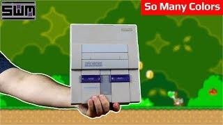 Taking Apart The Extra Colorful Super Nintendo | Tech Wave