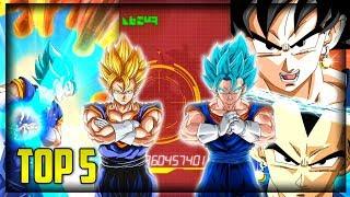 BEST LR SUMMONS W/ VEGITO ANIMATION! | Dragon Ball Z Dokkan Battle Top 5 List