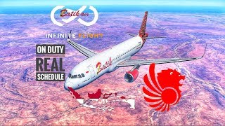 🔴 [ HD] INFINITE FLIGHT GLOBAL • Airbus 320-200 • Batik Air A320