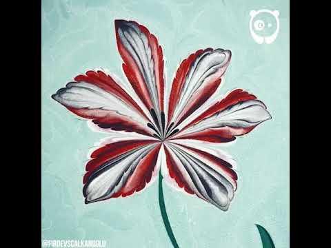 The Turkish Art Of Marbling|How To Make Art Of Ebru|PROLOSO