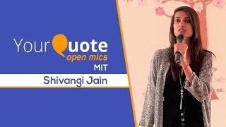 'Aasman' by Shivangi Jain   Hindi Poetry   YQ - MIT (Open Mic 2)